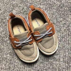 Carter's boys dress shoes- 7